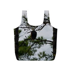 Bald Eagle 3 Full Print Recycle Bags (S)