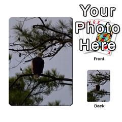 Bald Eagle 4 Multi-purpose Cards (Rectangle)