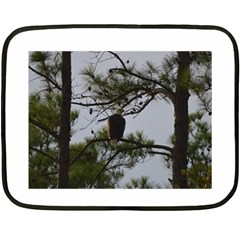 Bald Eagle 4 Fleece Blanket (mini)