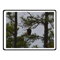 Bald Eagle 4 Fleece Blanket (Small)