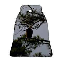 Bald Eagle 4 Bell Ornament (2 Sides)
