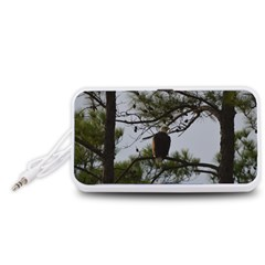 Bald Eagle 4 Portable Speaker (White)