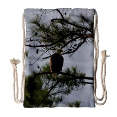 Bald Eagle 4 Drawstring Bag (large)