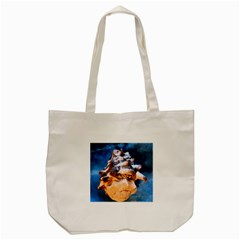 Sea Shell Spiral Tote Bag (cream)