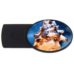 Sea Shell Spiral USB Flash Drive Oval (4 GB)