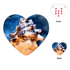 Sea Shell Spiral Playing Cards (Heart)