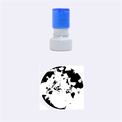 Sea Shell Spiral Rubber Round Stamps (Small)