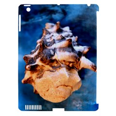 Sea Shell Spiral Apple iPad 3/4 Hardshell Case (Compatible with Smart Cover)