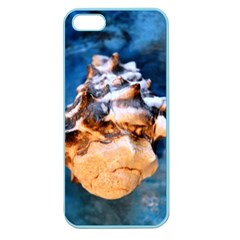 Sea Shell Spiral Apple Seamless iPhone 5 Case (Color)