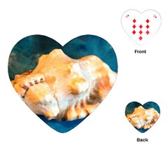 Sea Shell Spiral 2 Playing Cards (Heart)