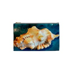 Sea Shell Spiral 2 Cosmetic Bag (Small)