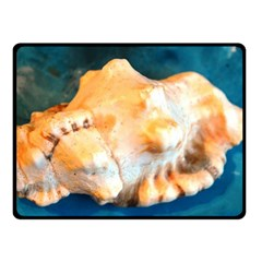Sea Shell Spiral 2 Fleece Blanket (Small)