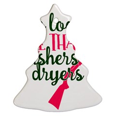 I Can Load More Than Washers And Dryers Christmas Tree Ornament (2 Sides)