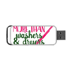 I Can Load More Than Washers And Dryers Portable USB Flash (Two Sides)