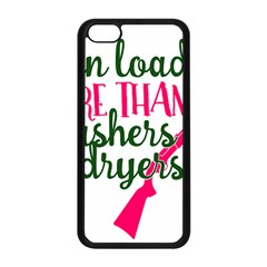 I Can Load More Than Washers And Dryers Apple iPhone 5C Seamless Case (Black)