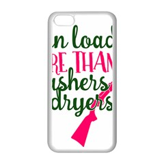 I Can Load More Than Washers And Dryers Apple Iphone 5c Seamless Case (white)