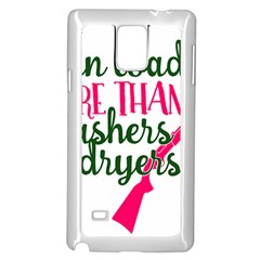 I Can Load More Than Washers And Dryers Samsung Galaxy Note 4 Case (white)