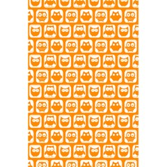 Yellow And White Owl Pattern 5 5  X 8 5  Notebooks