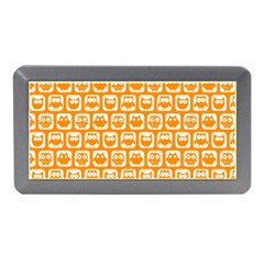 Yellow And White Owl Pattern Memory Card Reader (Mini)