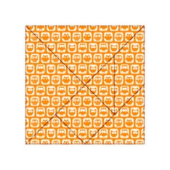 Yellow And White Owl Pattern Acrylic Tangram Puzzle (4  X 4 )