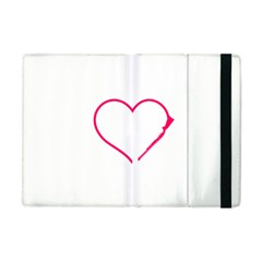 Customizable Shotgun Heart Apple Ipad Mini Flip Case