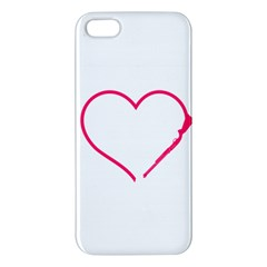 Customizable Shotgun Heart iPhone 5S Premium Hardshell Case