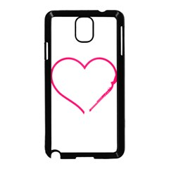 Customizable Shotgun Heart Samsung Galaxy Note 3 Neo Hardshell Case (Black)