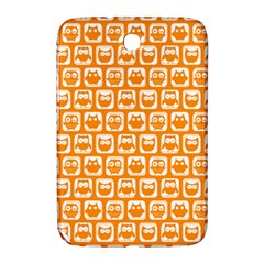 Yellow And White Owl Pattern Samsung Galaxy Note 8.0 N5100 Hardshell Case