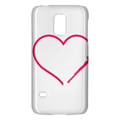 Customizable Shotgun Heart Galaxy S5 Mini