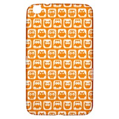 Yellow And White Owl Pattern Samsung Galaxy Tab 3 (8 ) T3100 Hardshell Case