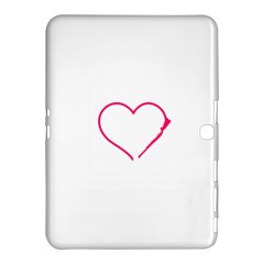 Customizable Shotgun Heart Samsung Galaxy Tab 4 (10.1 ) Hardshell Case