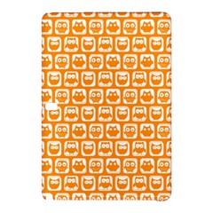 Yellow And White Owl Pattern Samsung Galaxy Tab Pro 10.1 Hardshell Case