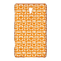 Yellow And White Owl Pattern Samsung Galaxy Tab S (8.4 ) Hardshell Case