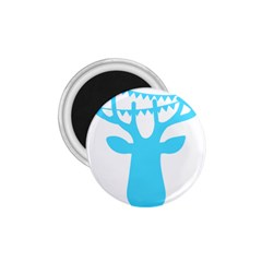 Party Deer With Bunting 1.75  Magnets