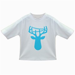 Party Deer With Bunting Infant/toddler T Shirts
