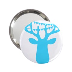 Party Deer With Bunting 2.25  Handbag Mirrors