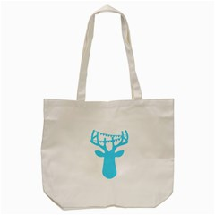 Party Deer With Bunting Tote Bag (Cream)