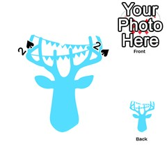 Party Deer With Bunting Playing Cards 54 (Heart)