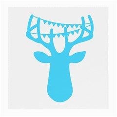 Party Deer With Bunting Medium Glasses Cloth