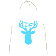 Party Deer With Bunting Full Print Aprons