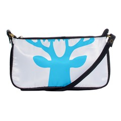 Party Deer With Bunting Shoulder Clutch Bags