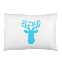 Party Deer With Bunting Pillow Cases (Two Sides)
