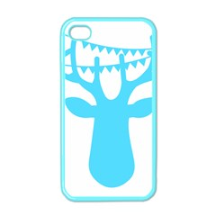 Party Deer With Bunting Apple iPhone 4 Case (Color)