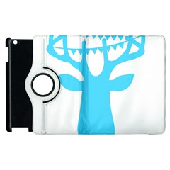 Party Deer With Bunting Apple iPad 2 Flip 360 Case