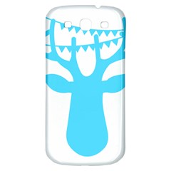 Party Deer With Bunting Samsung Galaxy S3 S III Classic Hardshell Back Case