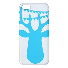 Party Deer With Bunting Apple Iphone 5 Premium Hardshell Case