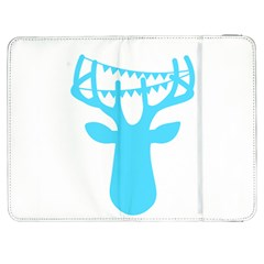 Party Deer With Bunting Samsung Galaxy Tab 7  P1000 Flip Case