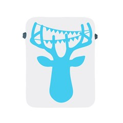 Party Deer With Bunting Apple iPad 2/3/4 Protective Soft Cases