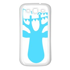 Party Deer With Bunting Samsung Galaxy S3 Back Case (White)