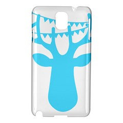 Party Deer With Bunting Samsung Galaxy Note 3 N9005 Hardshell Case